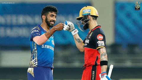 Virat Kohli and Jasprit Bumrah IPL